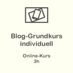 Blog Grundkurs individuell - Online-Kurs