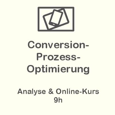Conversion-Prozess-Optimierung