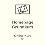 Homepage Grundkurs Online