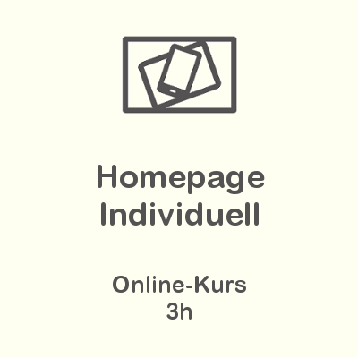 Homepage Individuell