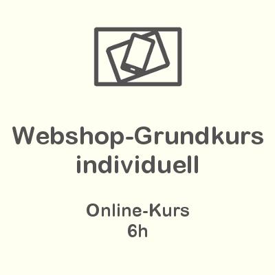 Webshop-Grundkurs Individuell