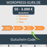 WordPress-Kurs-Gutschein variable