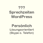 WordPress-Sprechstunde