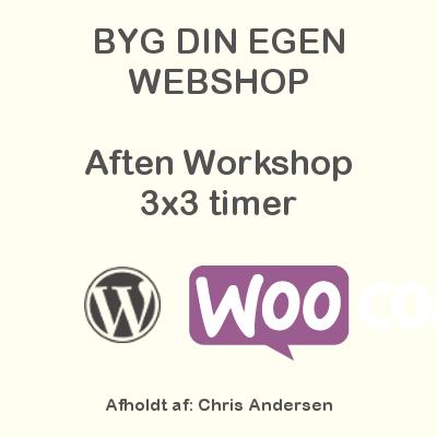 Webshop Aften Workshop