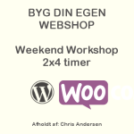 Webshop Weekend Workshop